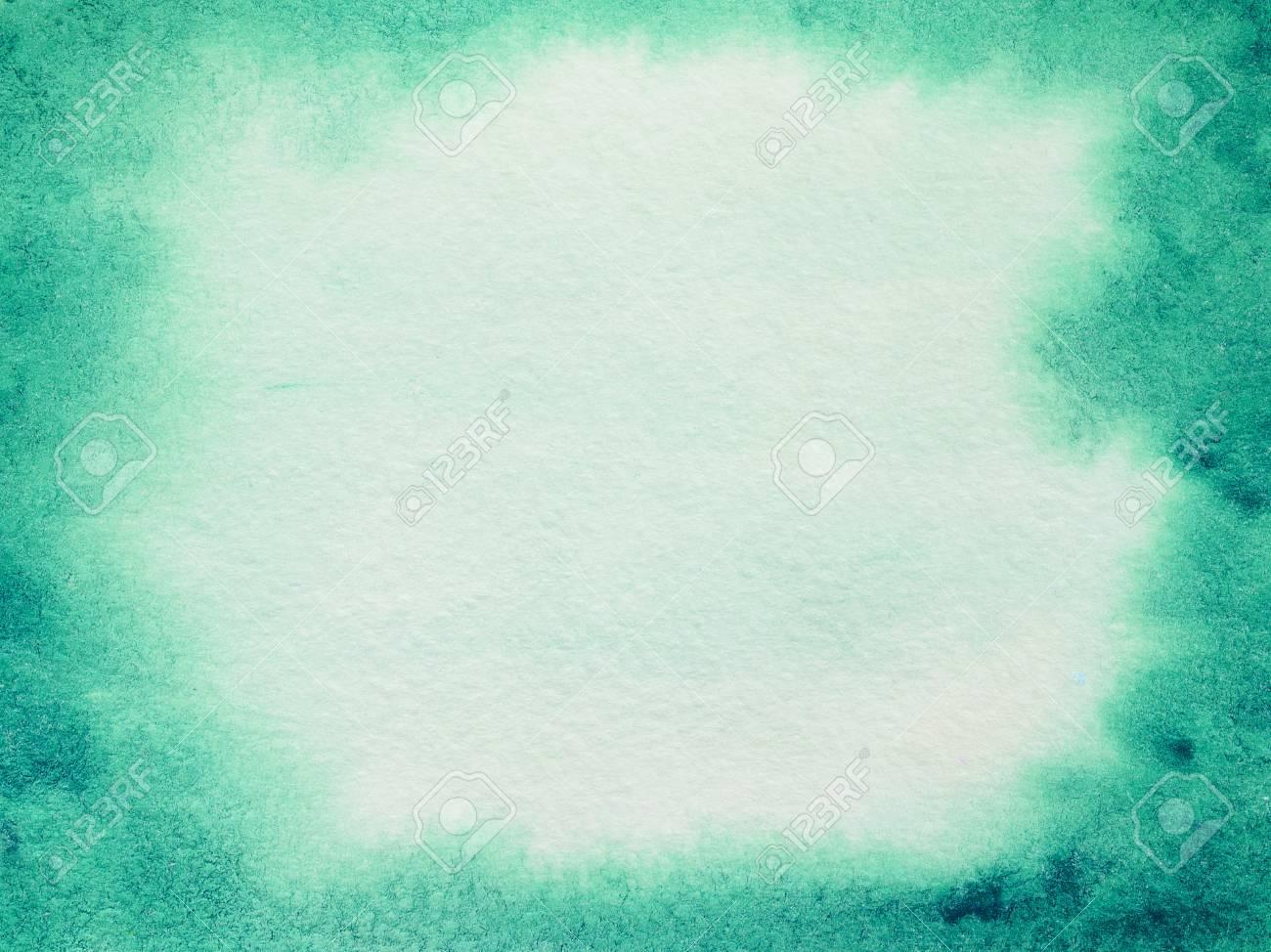 Aquarelle Arrire Plan Abstrait Avec Votre Texte Ou Lments De Conception Gradient Fond Vert