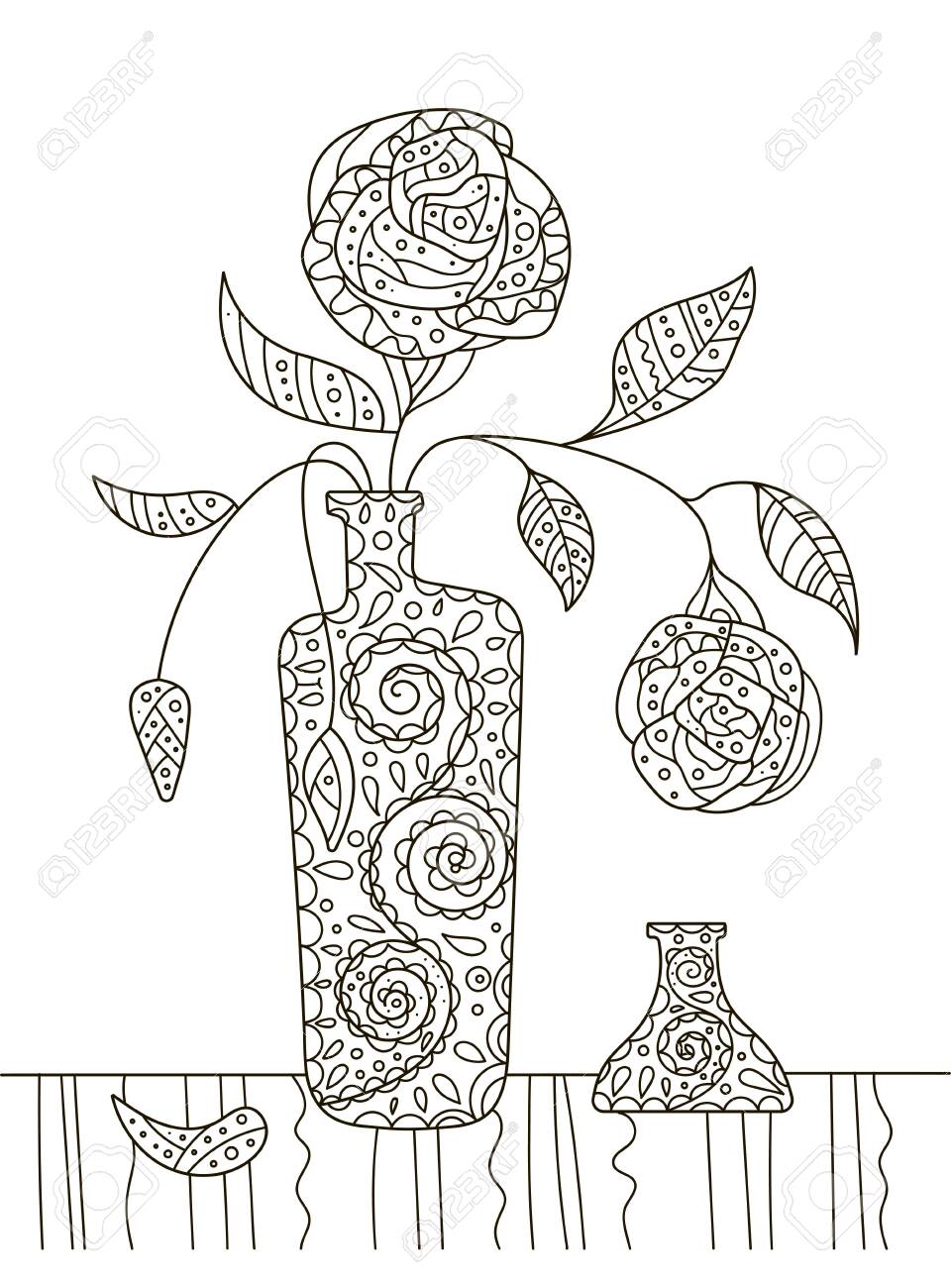 Adult Coloring Pages Flowers Beautiful Awesome Coloring Pages for ... | 1300x960