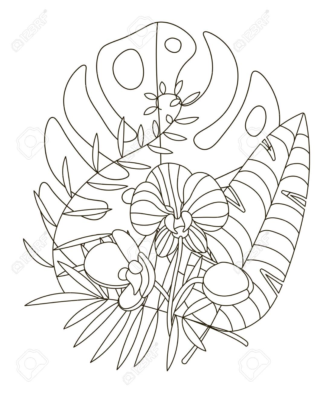 Doodle Coloring Pages April Showers Bring May Flowers Coloring ... | 1300x1102