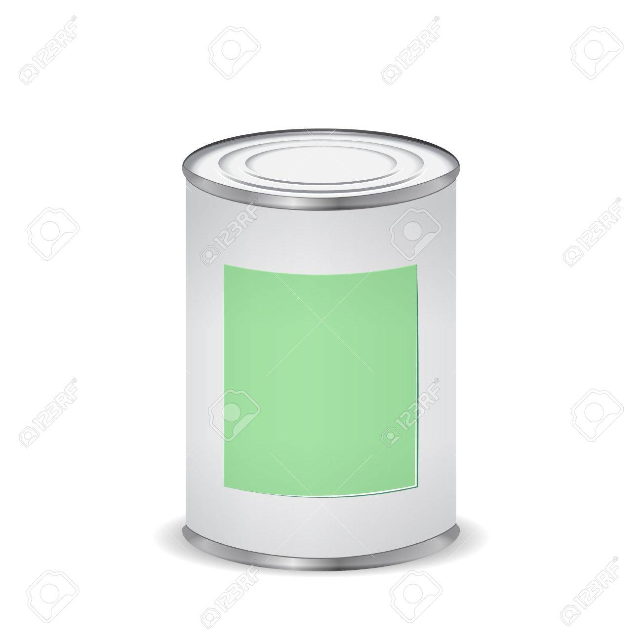paint color tin can Stock Vector - 16429490