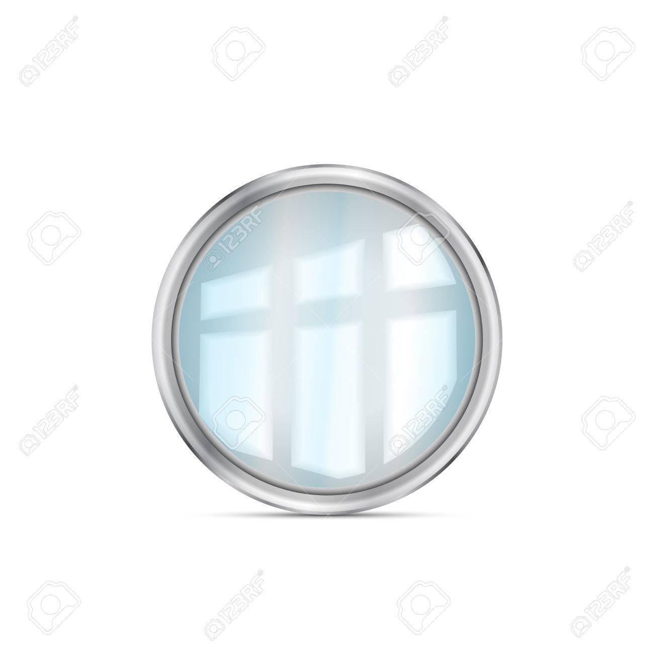 Mirror isolated Stock Vector - 18619483