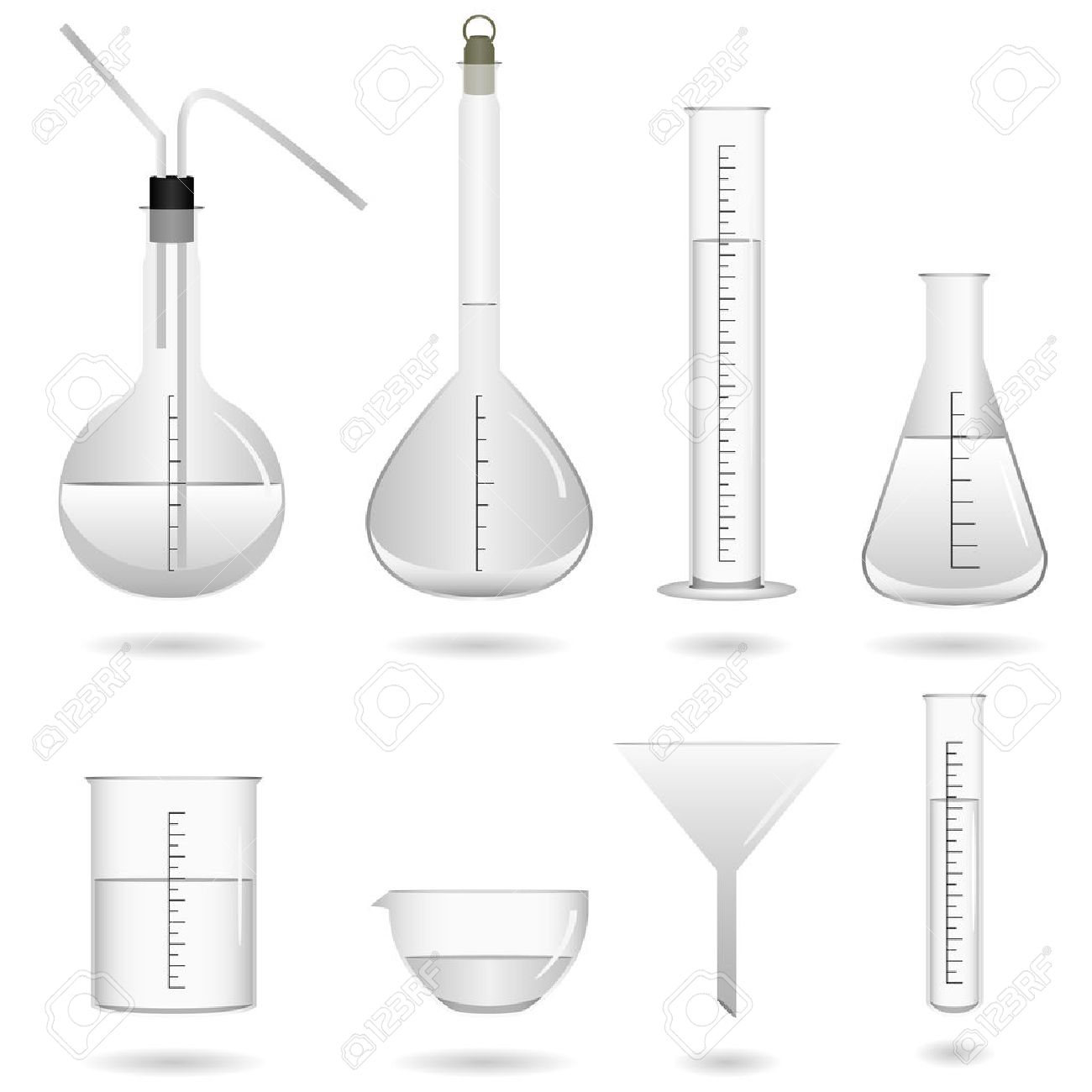 Chemical Science Tools Vector Stock Vector - 7113336