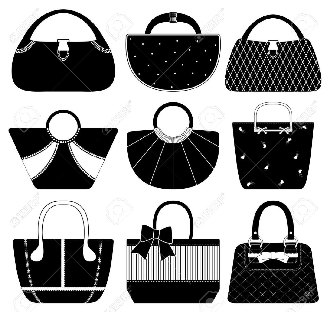 Female Bag Handbag Purse Fashion Woman Royalty Free Cliparts ... 1ad5a0367d