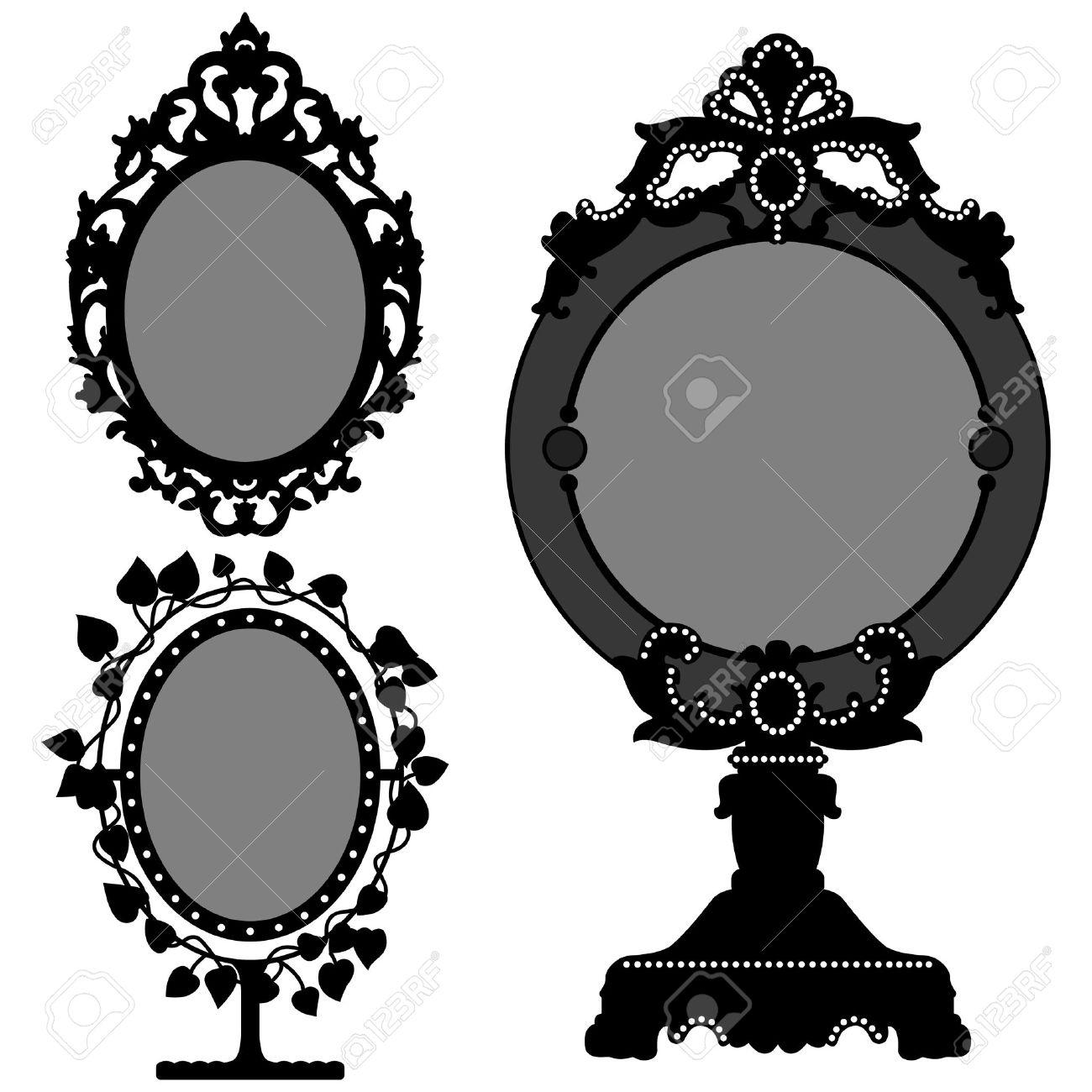 Bilderrahmen verzieren ornamente  Rahmen Schwarz Lizenzfreie Vektorgrafiken Kaufen: 123RF