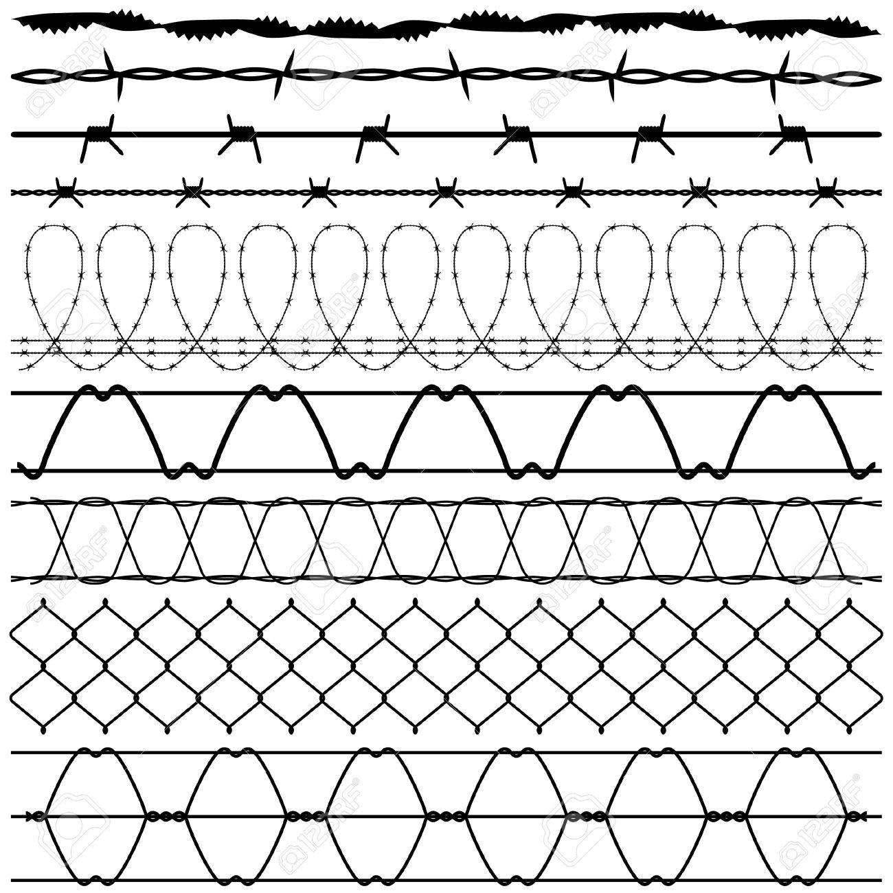 Awesome 11 Row Concertina Wire Illustration - Everything You Need to ...
