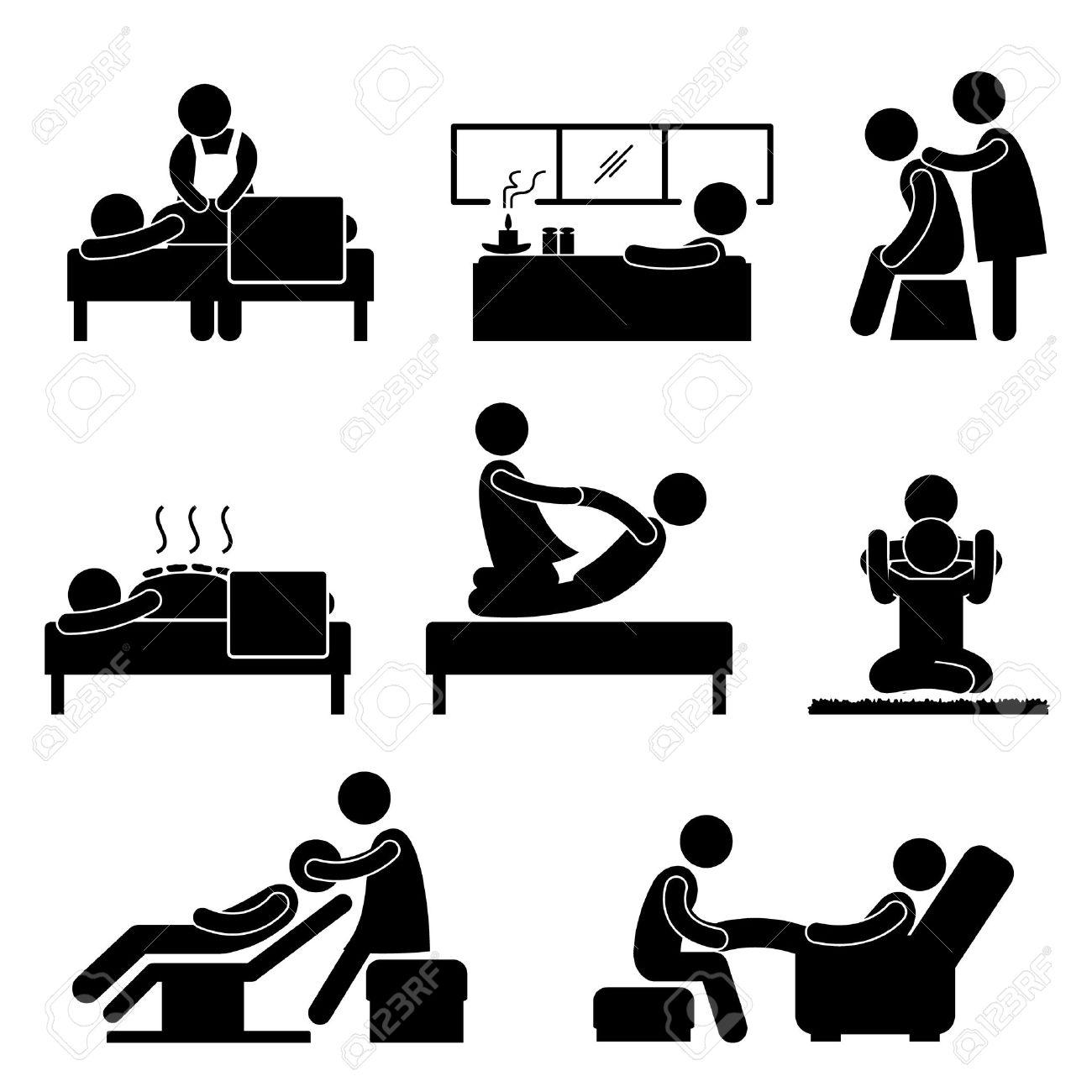 Wellness icon  Spa Massage Therapie Wellness Aromatherapie Icon Anmelden ...