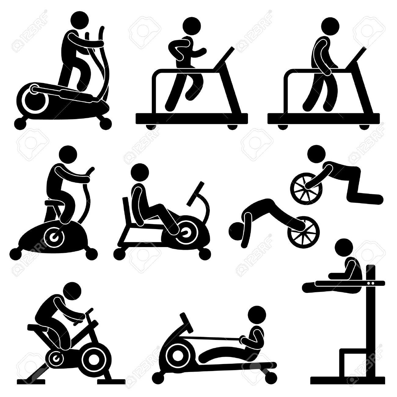 Athletic Gym Gymnasium Fitness Exercise Training Workout - 12483512