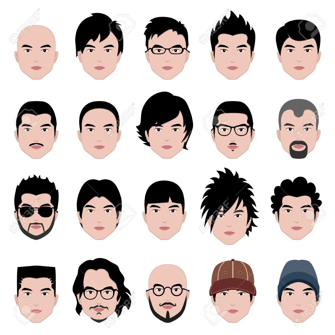 Strange Man Men Male Human Face Head Hair Hairstyle Mustache Bald People Short Hairstyles For Black Women Fulllsitofus