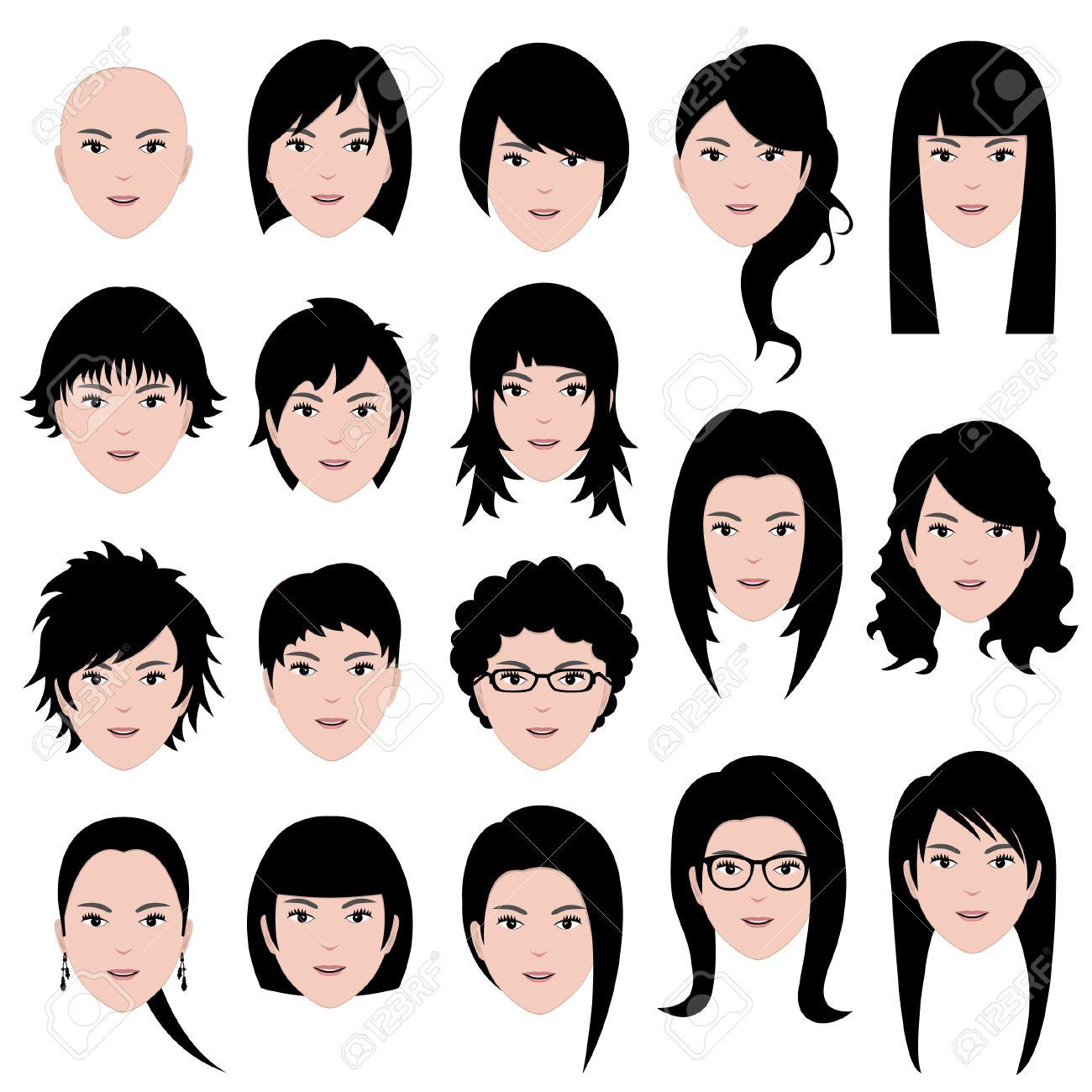 Причёска для толстого лица женские