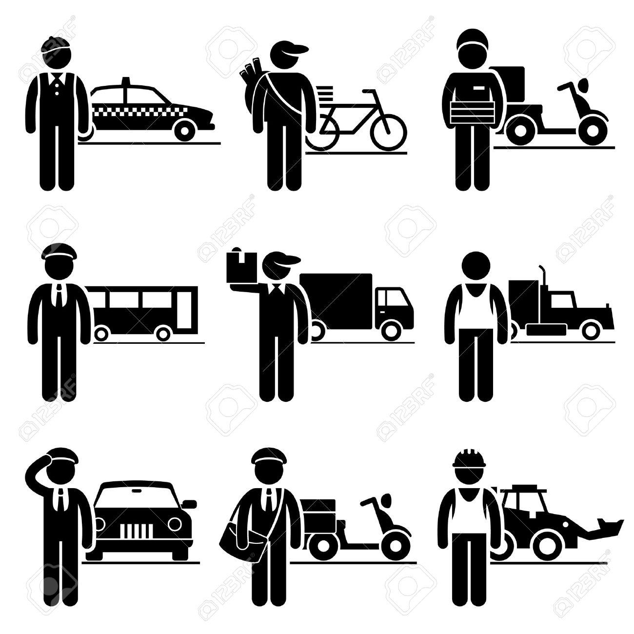 Delivery Driver Jobs Ocupaciones Empleo - Taxi, Periódico, Pizza ...