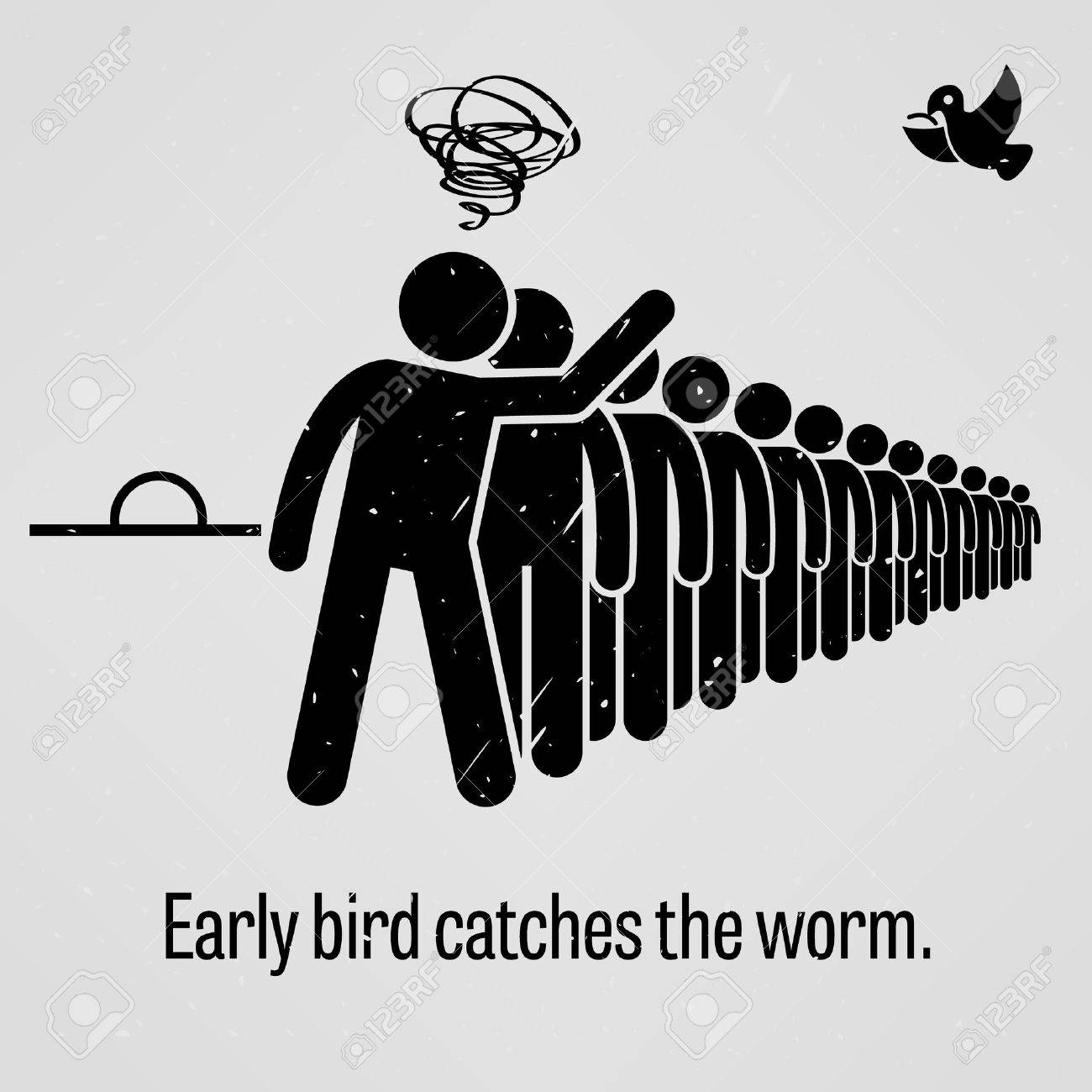 Early Bird Catches the Worm - 36825249