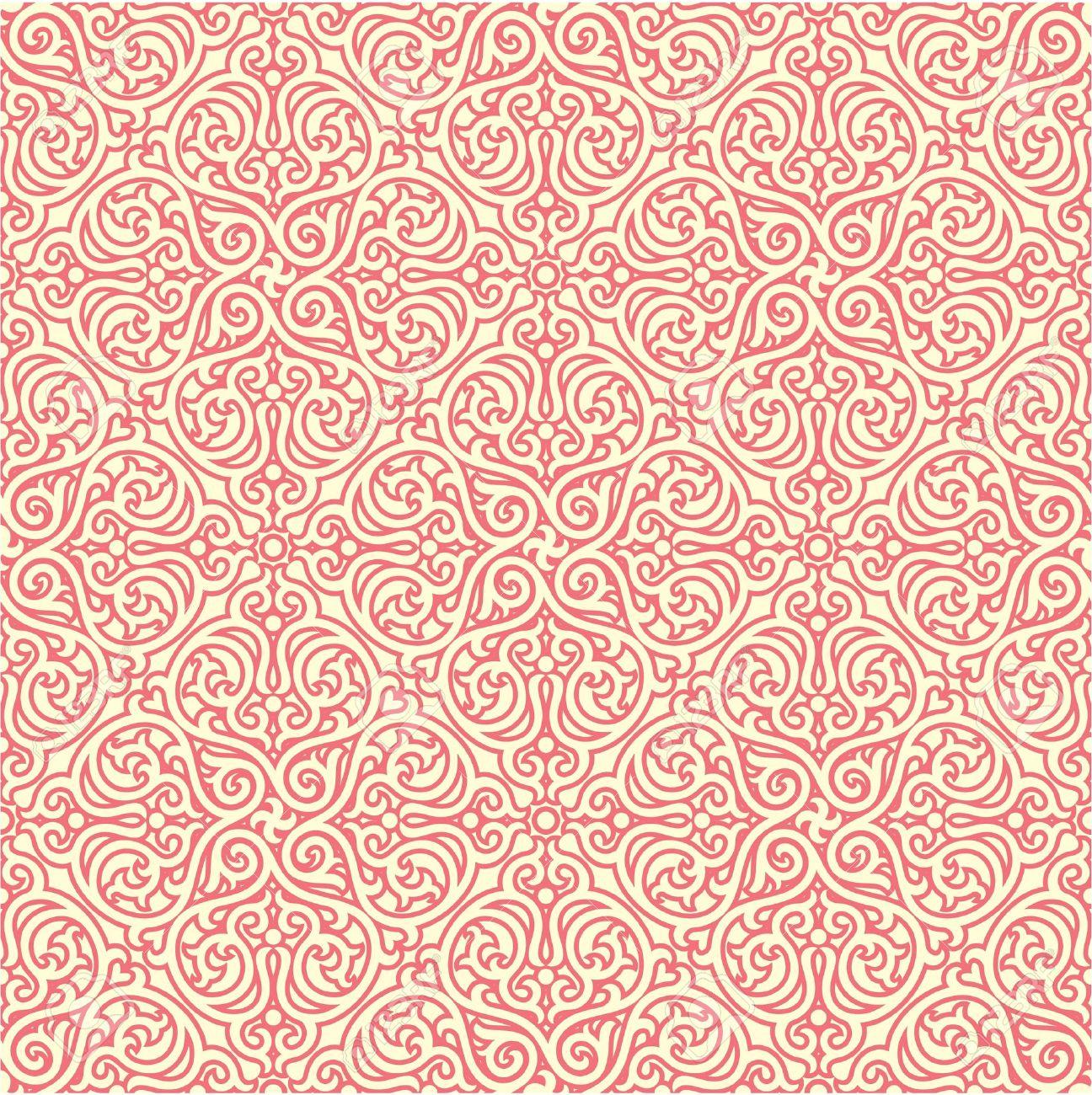 Oriental  Seamless Pattern Stock Vector - 12826024