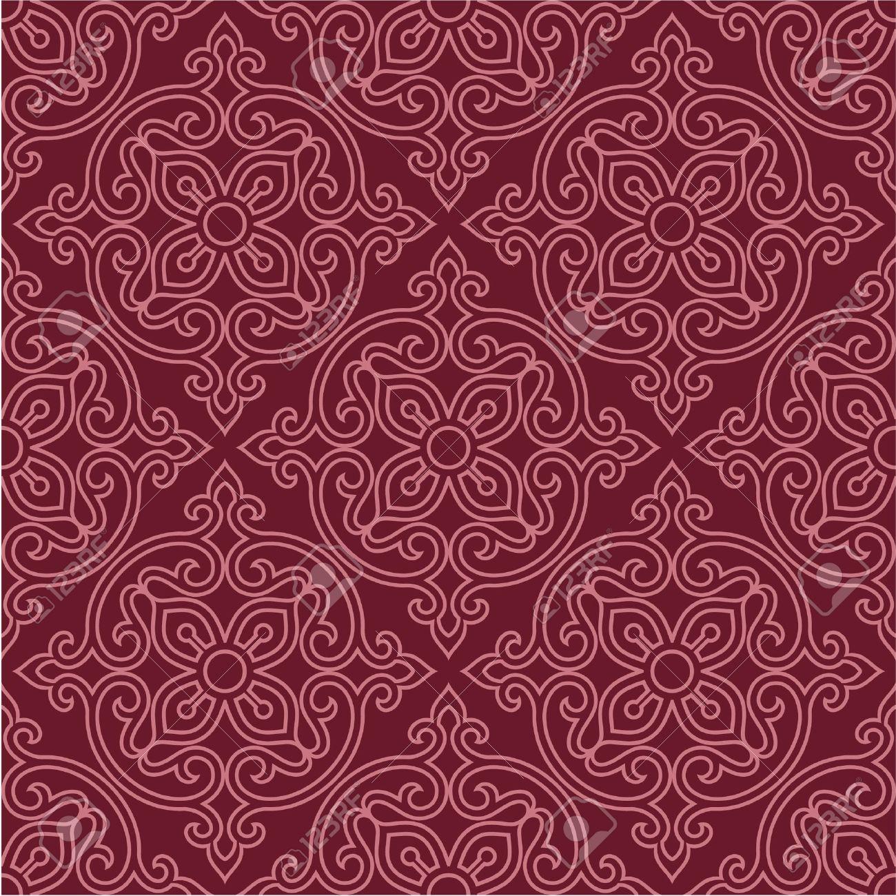Oriental Seamless Pattern - Background, Wallpaper, Tile - 12826142