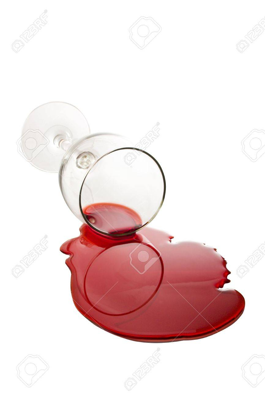 spilled wine glass stock photo picture and royalty free image