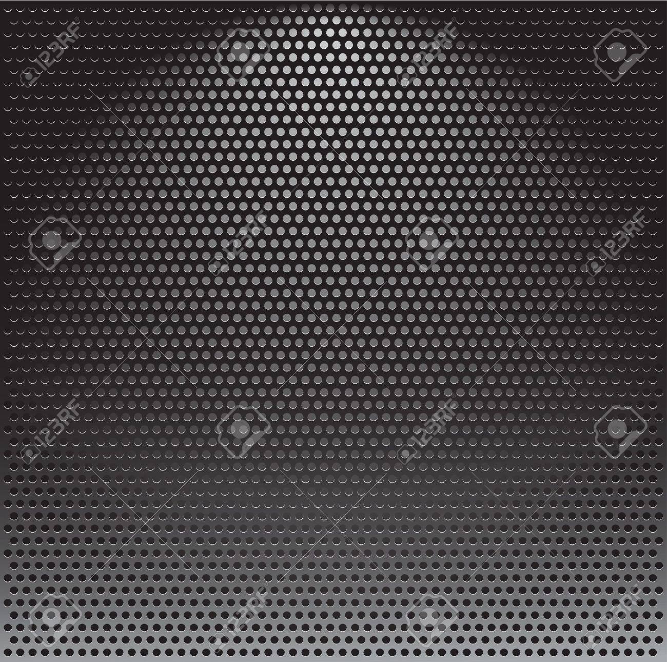 Realistic vector speaker grill background Stock Vector - 9929942