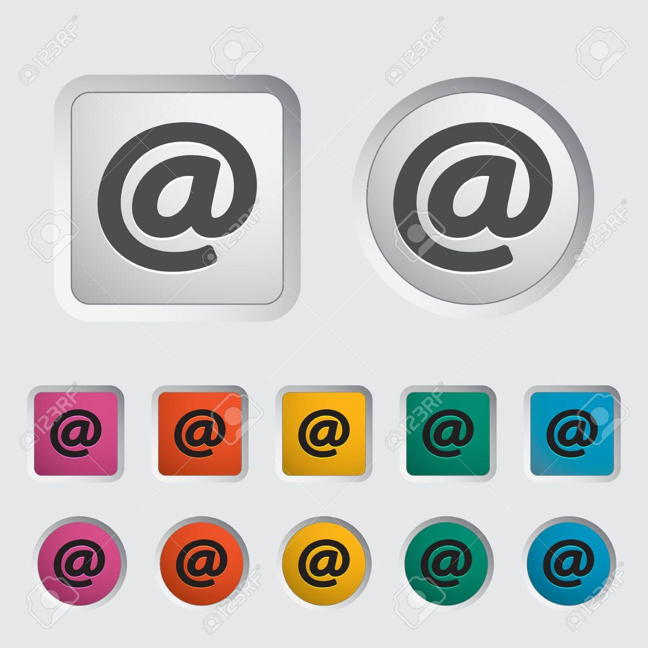 Email single icon  Vector illustration Stock Vector - 16786755