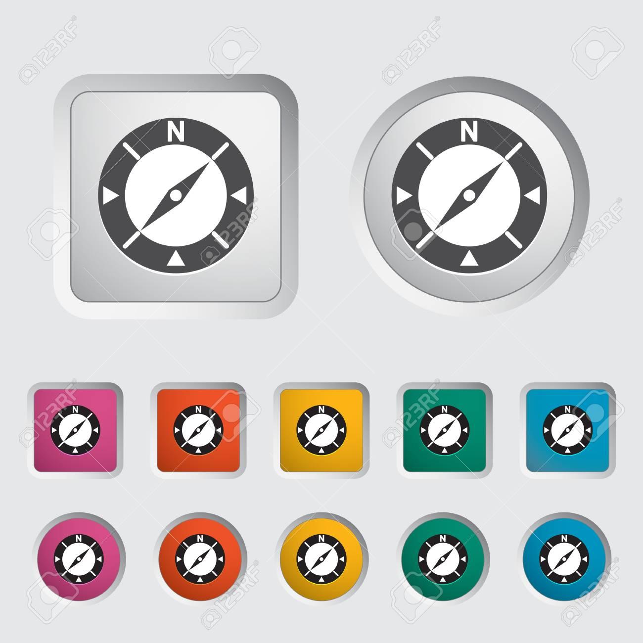 Compass icon  Vector illustration Stock Vector - 16786710