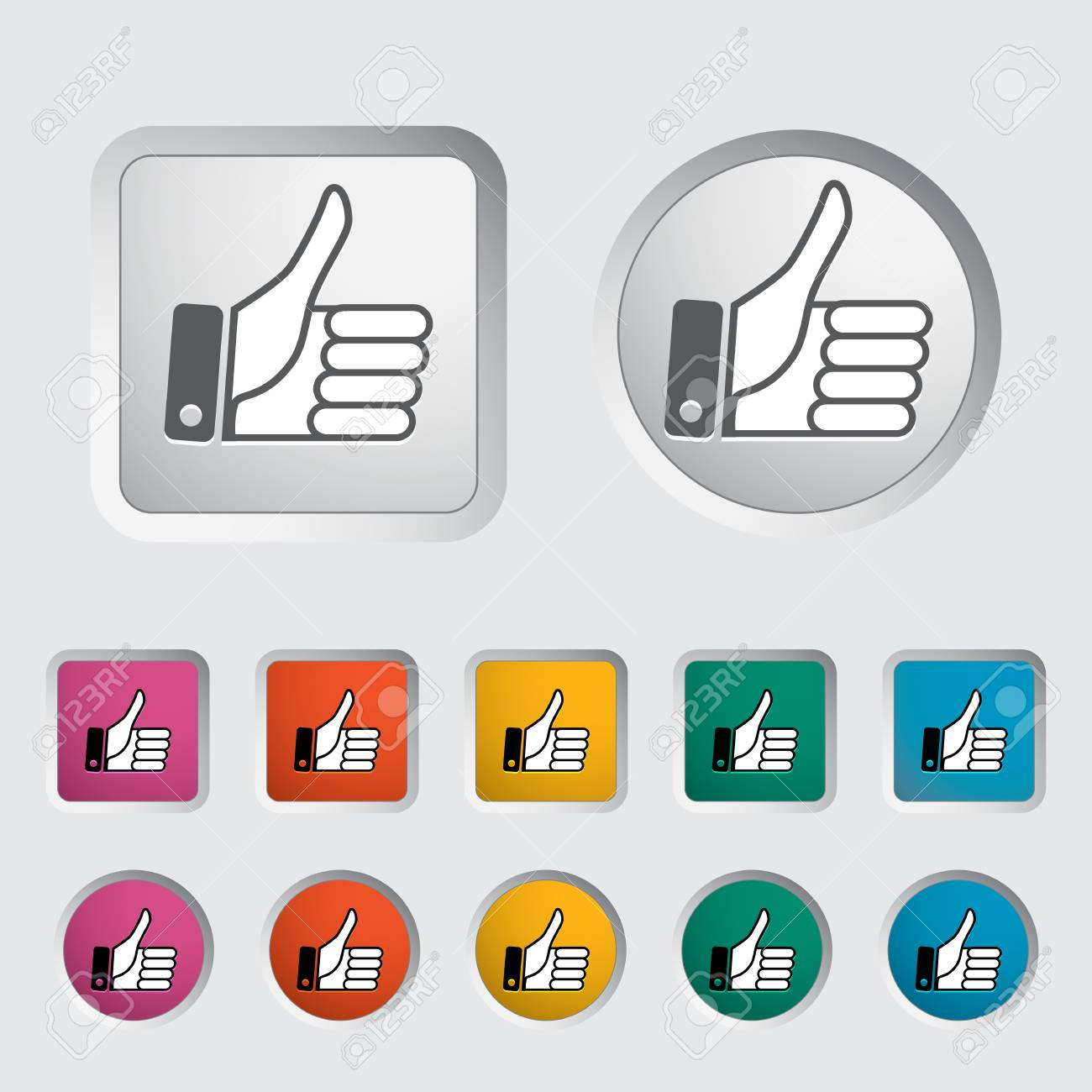 Like icon. Vector illustration Stock Vector - 17304376