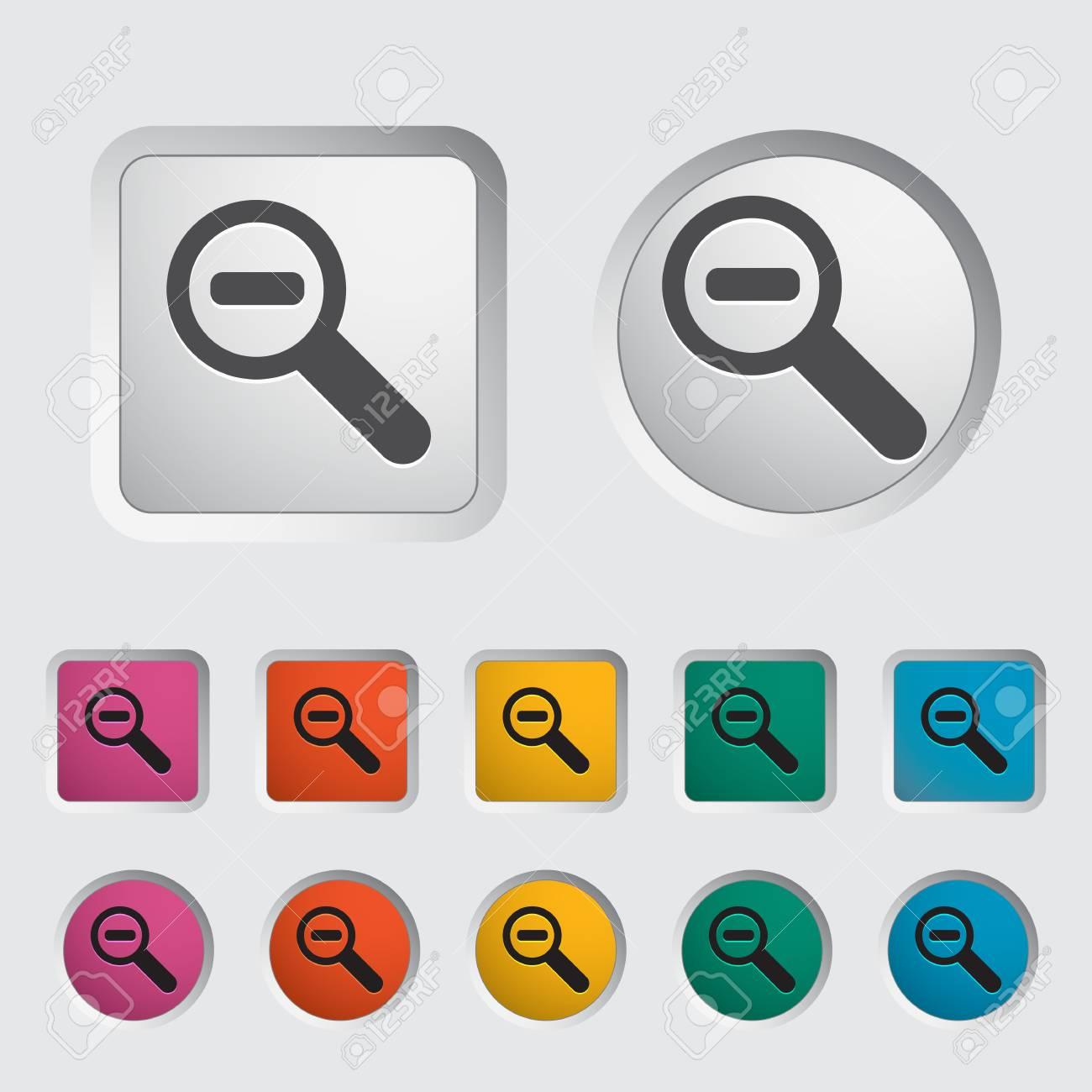 Scale single icon. Vector illustration. Stock Vector - 17355267