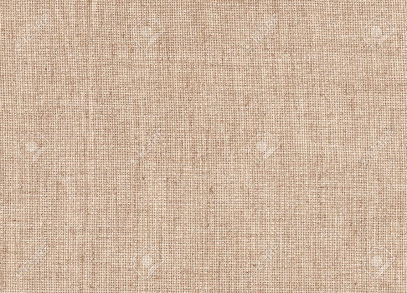 Light Natural Linen Texture Detail For The Background High Resolution Canvas Old