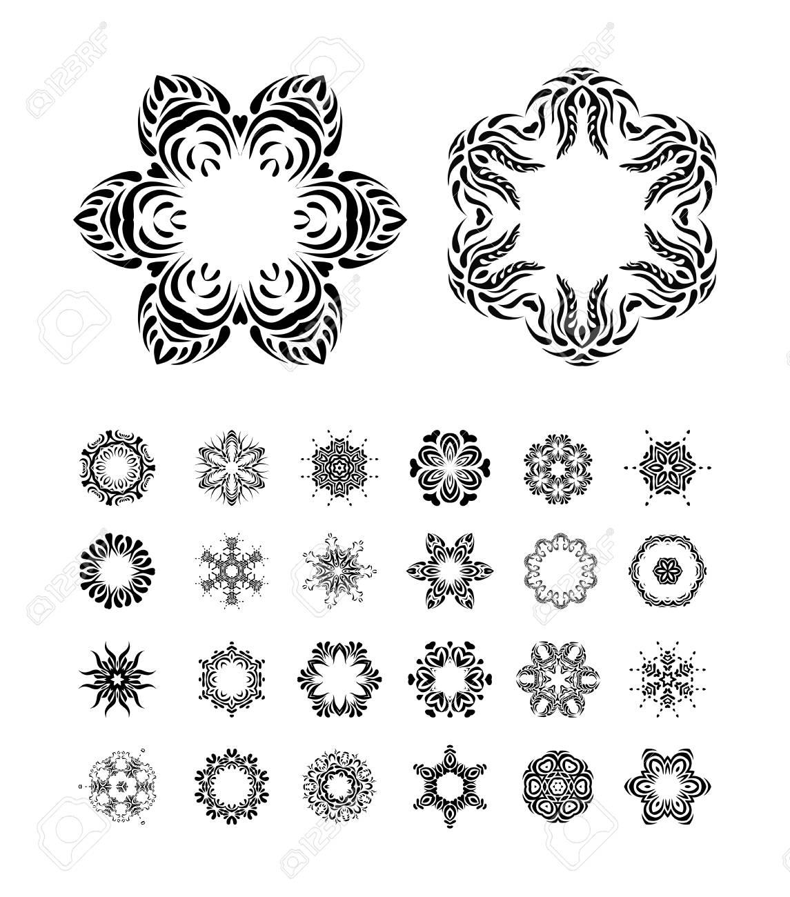 Arte De Zentangle Para El Libro Para Colorear Mandalas étnicas
