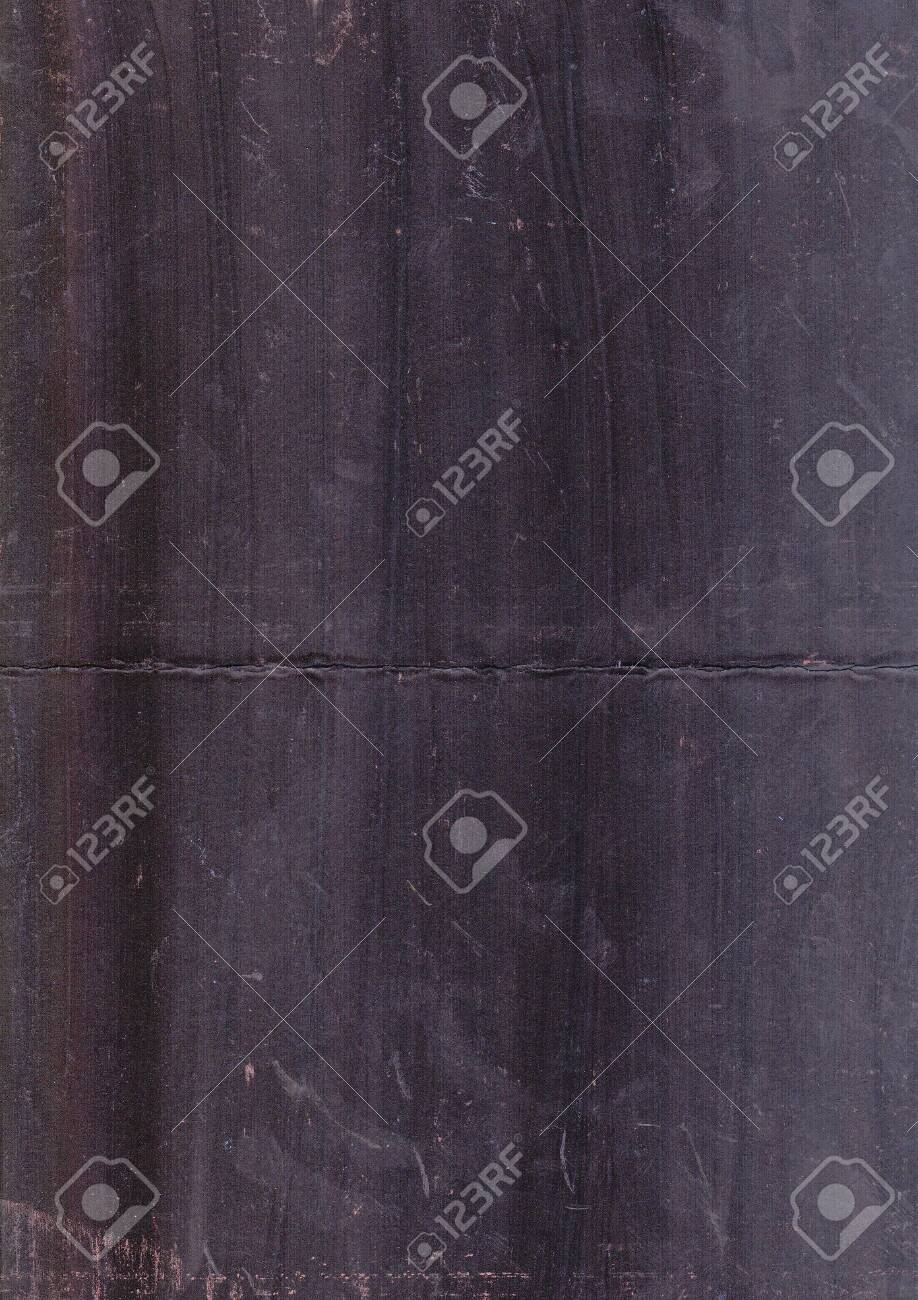 Abstract gouache black painted background. Grunge wall texture. Brush strokes and stains black texture. - 105108005