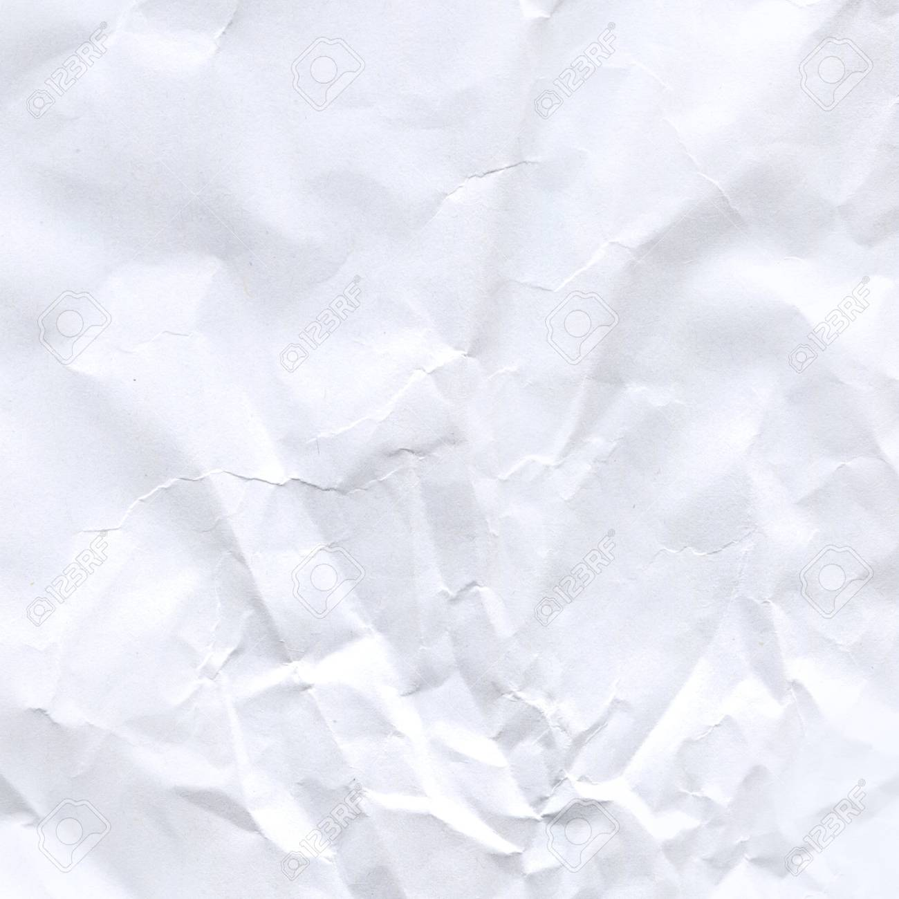 wrinkled paper background. close up crumpled white paper texture