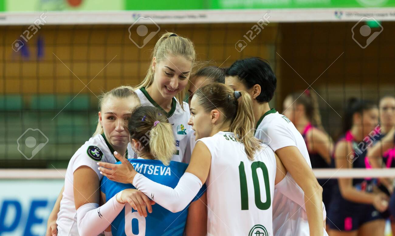 ODESSA, SOUTH, UKRAINE - October 15, 2019: Women's European ...