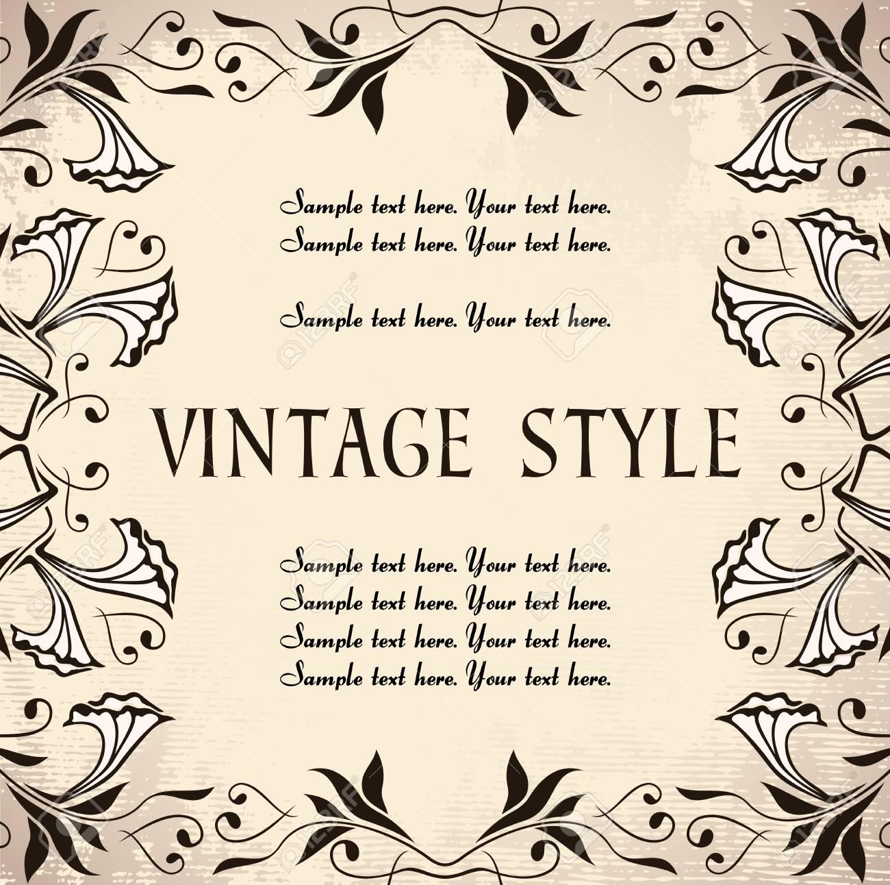 vintage background Stock Vector - 7014891