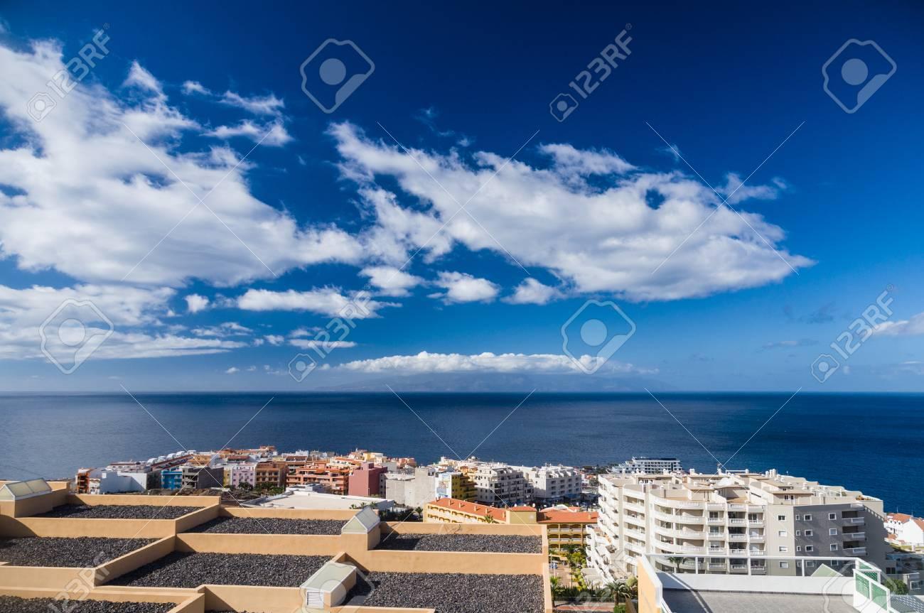 La Località Di Soggiorno Puerto Santiago Vista Sul Mare Tenerife ...