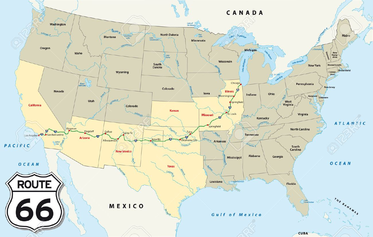 Map Route Map Of Route United States Usa Map In The Usa Map Interstate Routes