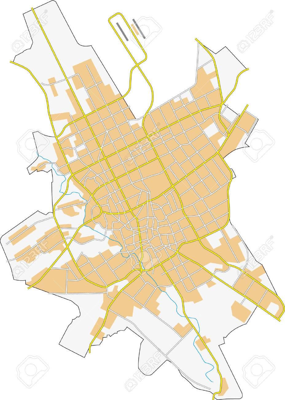 Riyadh City Map Royalty Free Cliparts Vectors And Stock