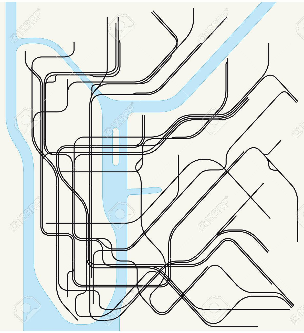 Free Ny Subway Map.New York Subway Map