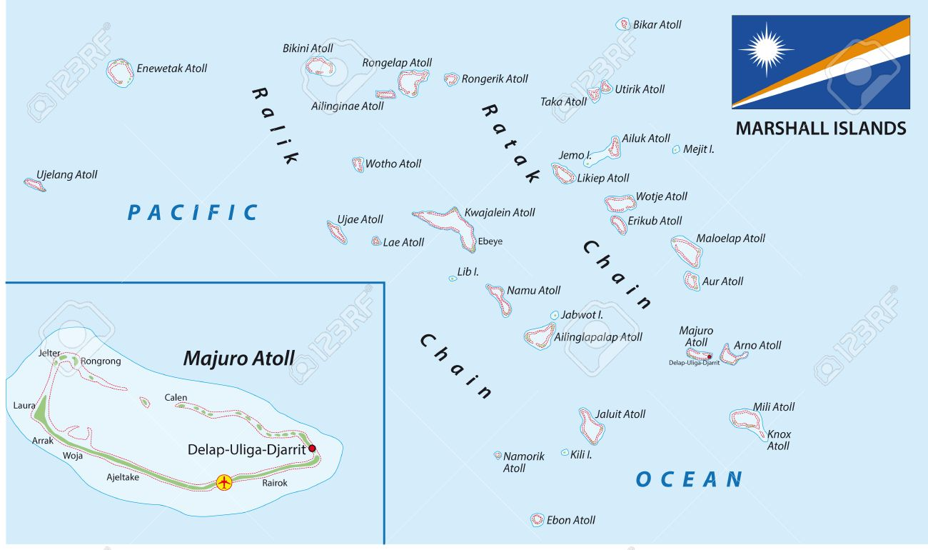 Marshall Islands map with flag on rwanda map, hawaii map, philippines map, belize map, northern mariana islands, american samoa, burma map, wake island, gilbert islands map, macau map, micronesia map, dominican republic map, east timor map, palau map, federated states of micronesia, solomon islands, mariana island map, egypt map, australia map, new caledonia, pacific map, alaska map, puerto rico map, new caledonia map, cook islands, oceania map, caroline islands map, papua new guinea,