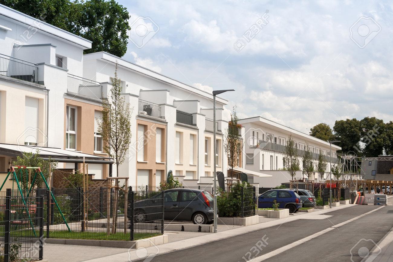 New housing development near Frankfurt Germany - 46031745