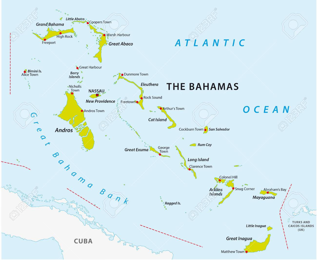 Map Of The Bahamas Bahamas Map Royalty Free Cliparts, Vectors, And Stock Illustration  Map Of The Bahamas