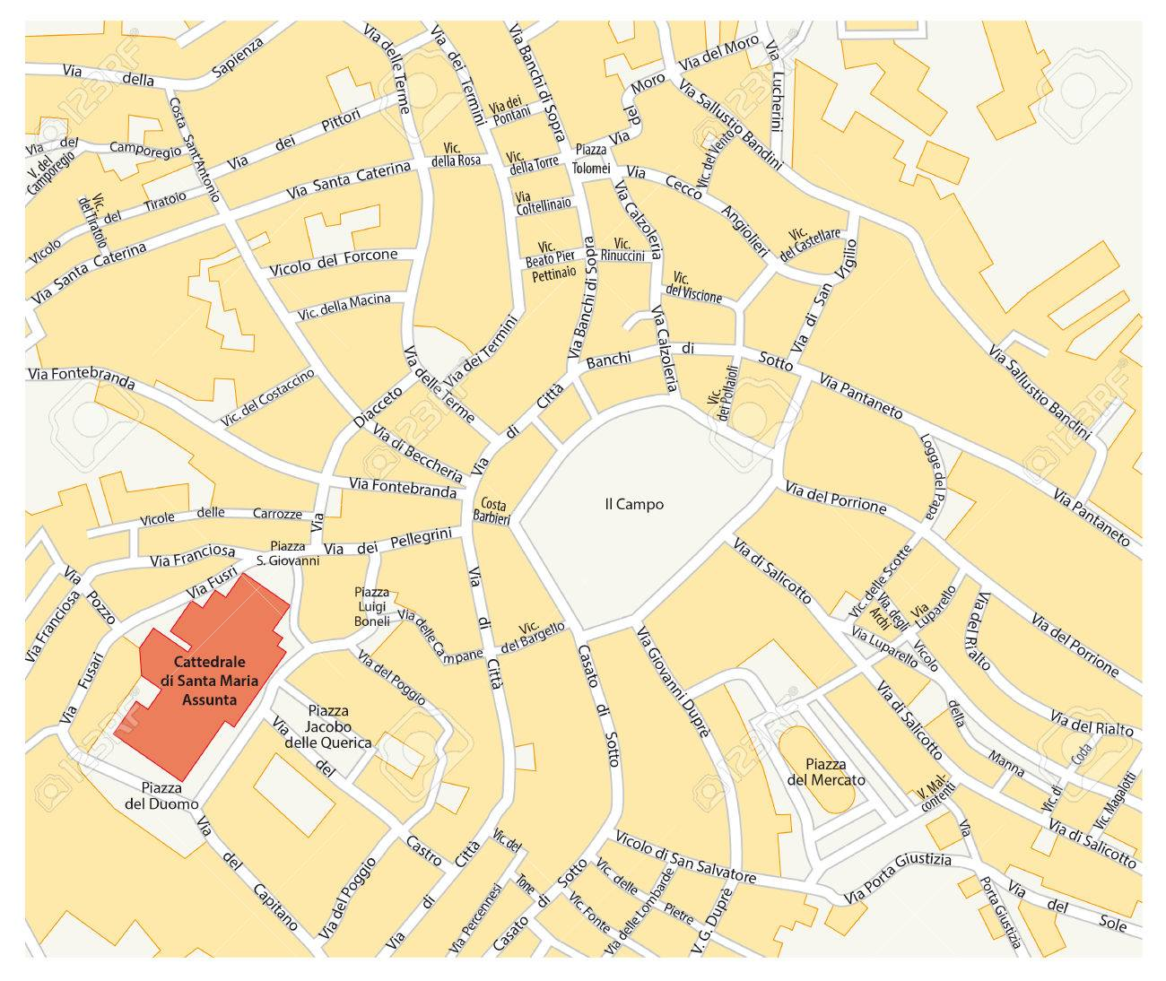 Cartina Roma Centro Storico