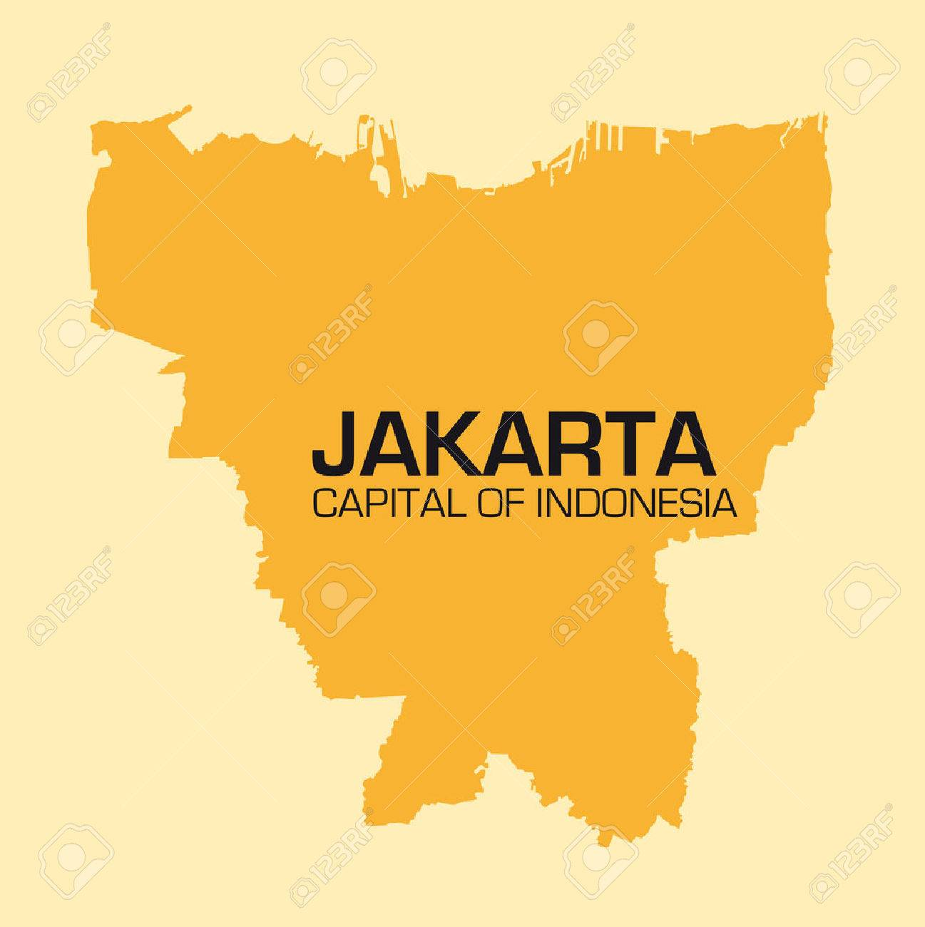Simple outline map of the indonesian capital jakarta royalty free simple outline map of the indonesian capital jakarta stock vector 64568587 freerunsca Gallery