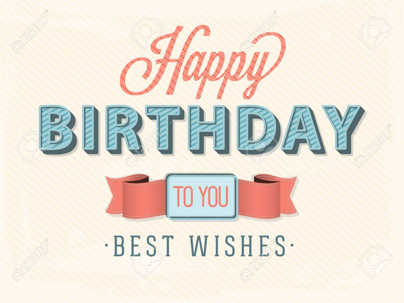 Happy birthday card - 37001979