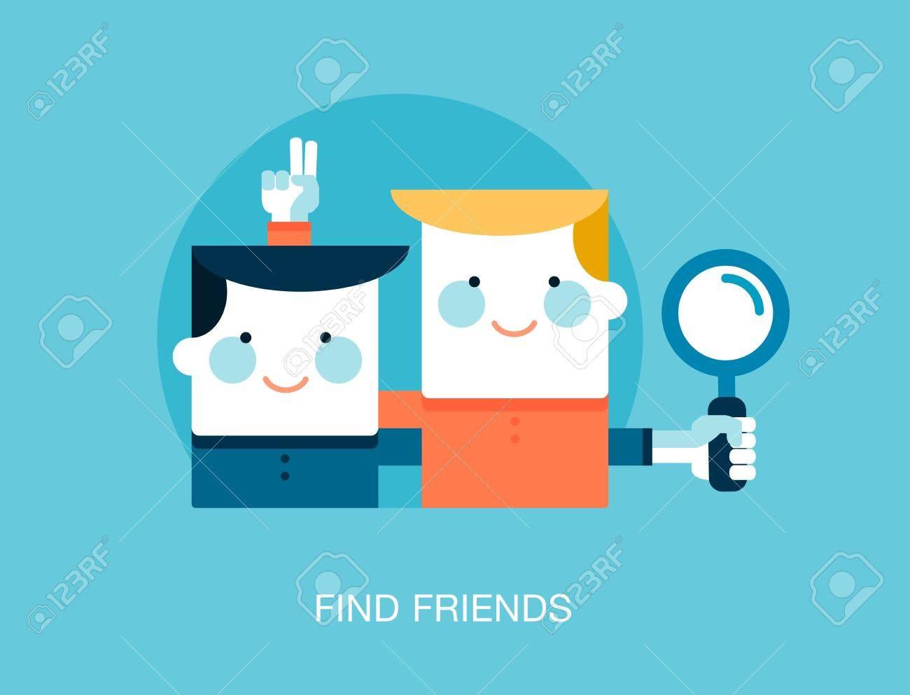 amigos en internet