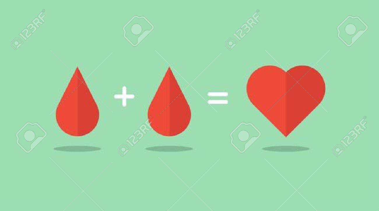 blood donation saves lives, illustration - 37260388