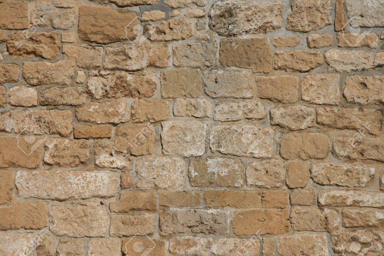 Rough decorative stone wall for a background Stock Photo - 3648185