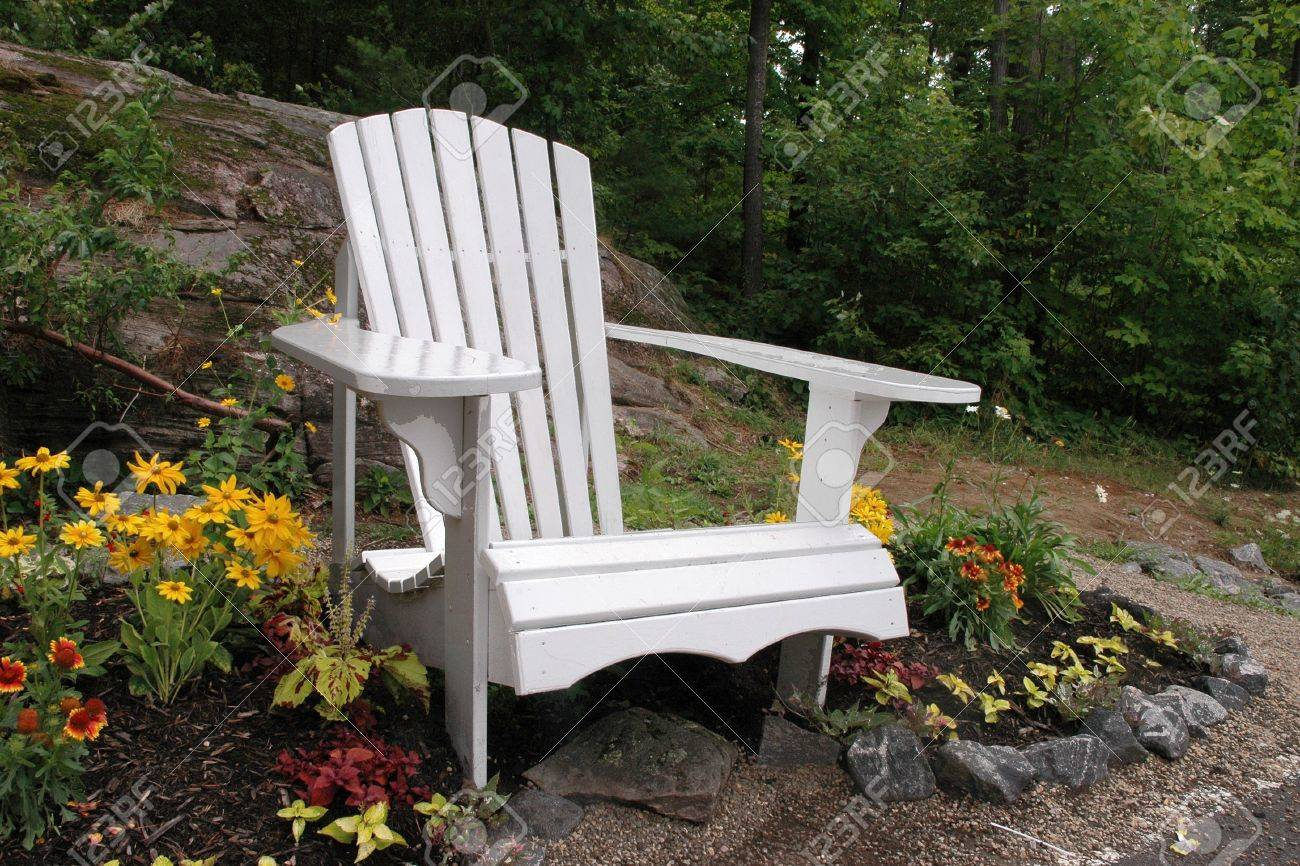Muskoka Chair Stock Photo - 17019528 & Muskoka Chair Stock Photo Picture And Royalty Free Image. Image ...