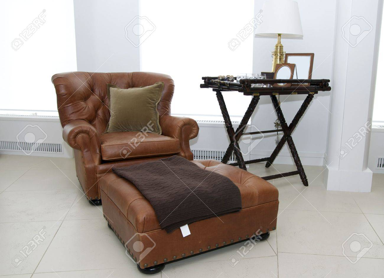 a large lounge chair Stock Photo - 13234242
