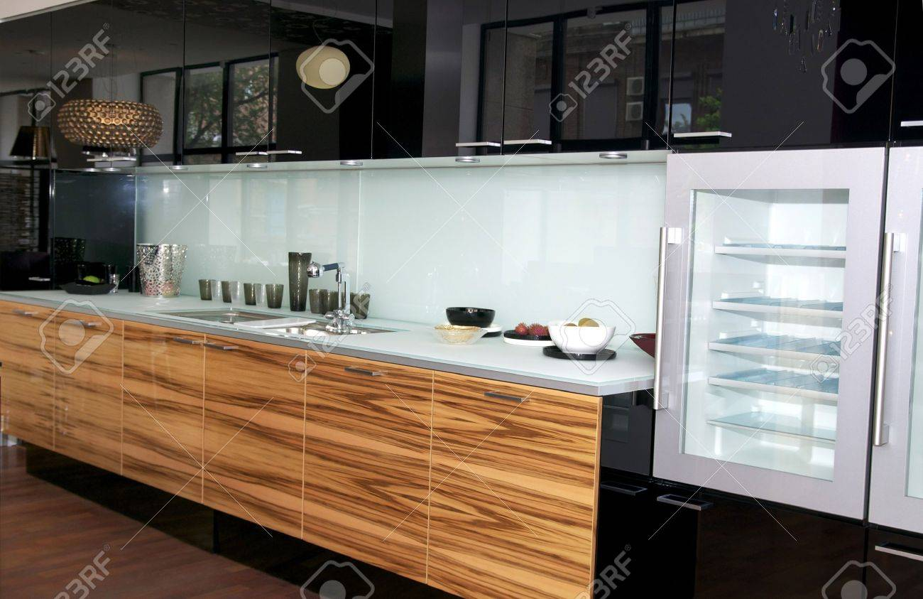 nice interior with furniture and kitchen appliances Stock Photo - 13968521