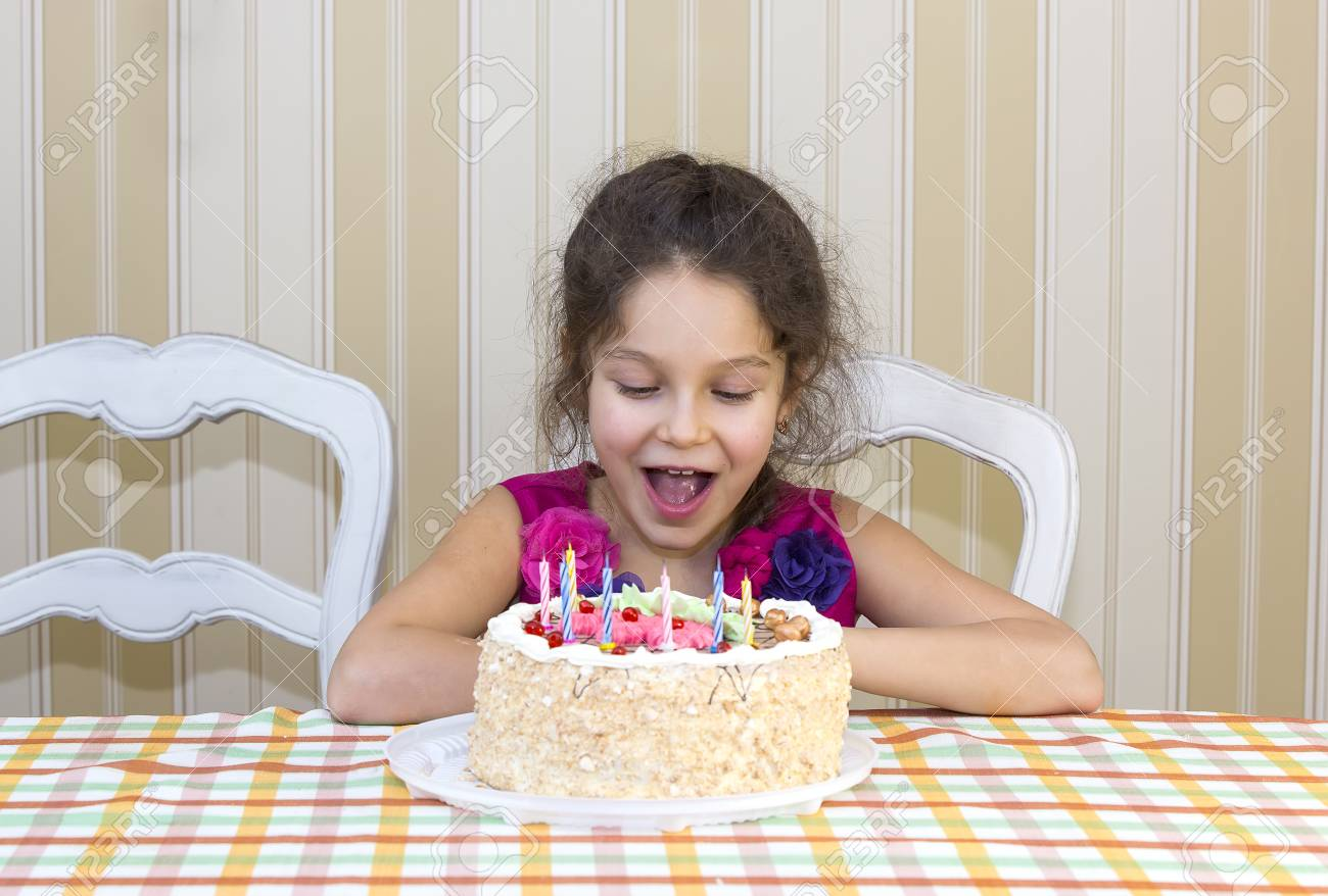 Kids Have Fun Eating Birthday Cake Stock Photo Picture And Royalty
