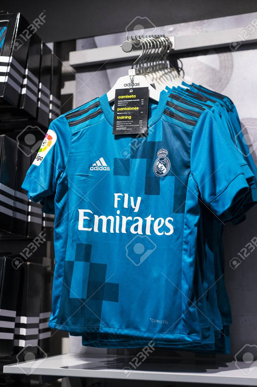 reputable site 6aad1 159e0 MADRID, SPAIN - 25 MARCH, 2018: Official clothing store and sports..