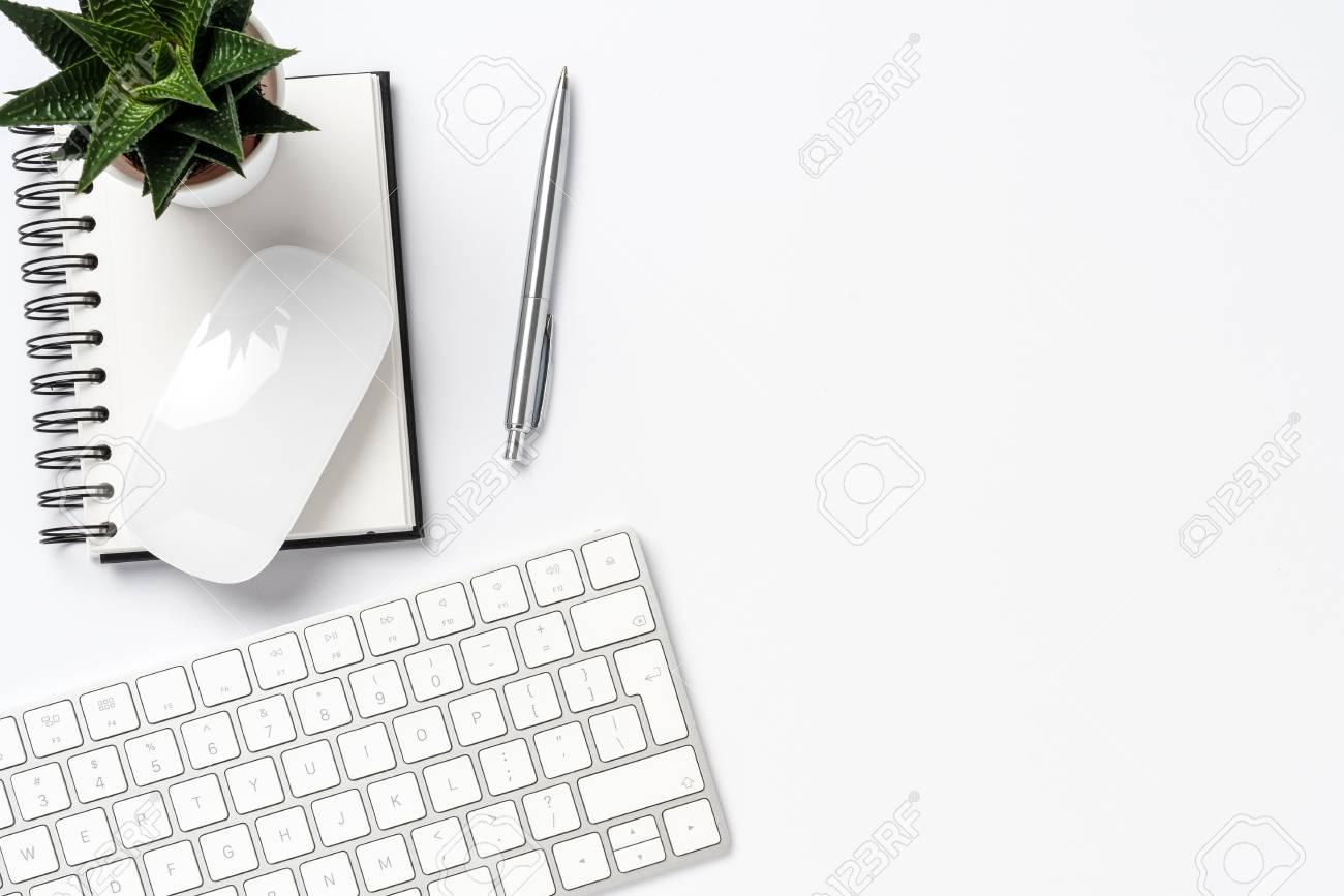 Office Desktop Top View