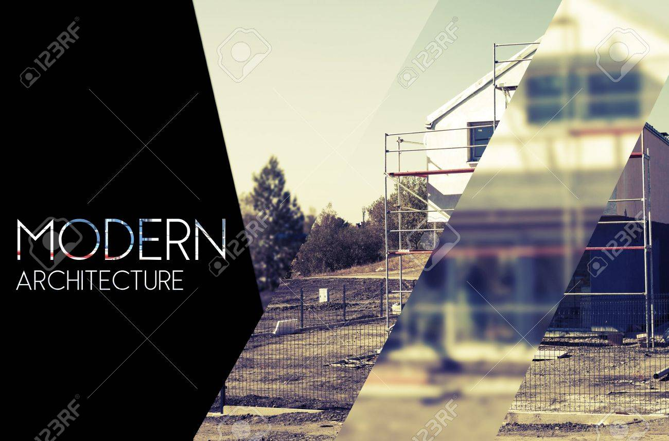 Architecture Design Background modern architectural design background with photography and