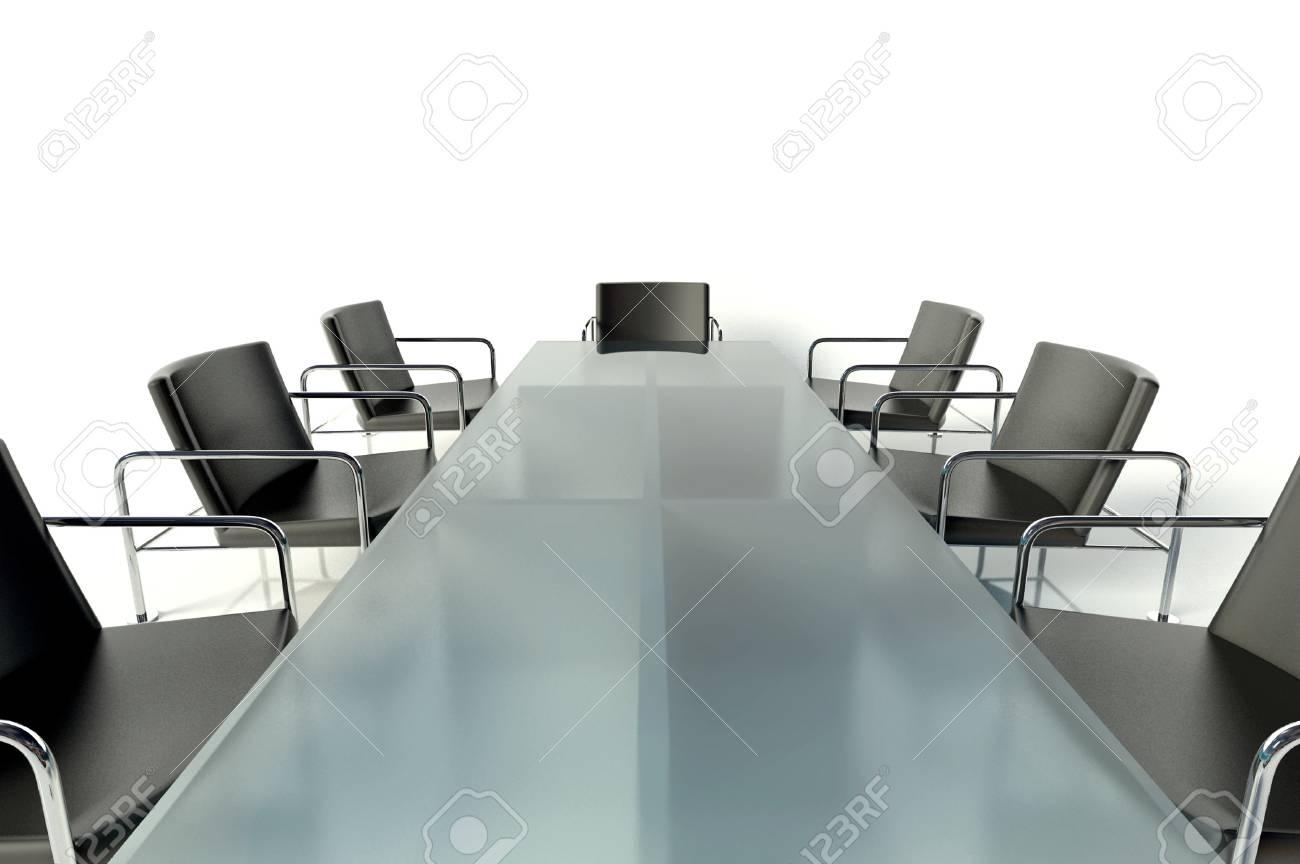 Tavolo Sala Riunioni.Tavolo Da Conferenza E Sedie In Sala Riunioni